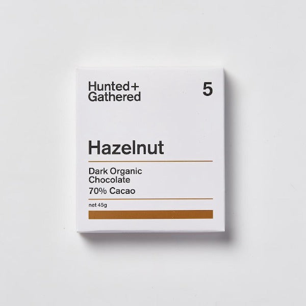 Hunted Gathered Hazelnut Chocolate