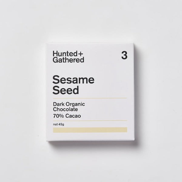 Hunted + Gathered Sesame Seed Chocolate