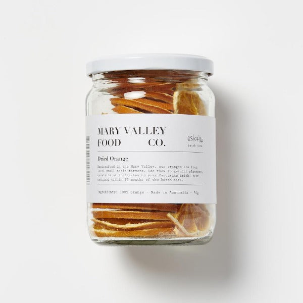 Mary Valley Food Co Dried Orange