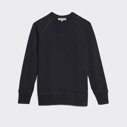 Crew Neck Raglan Sweatshirt - Charcoal
