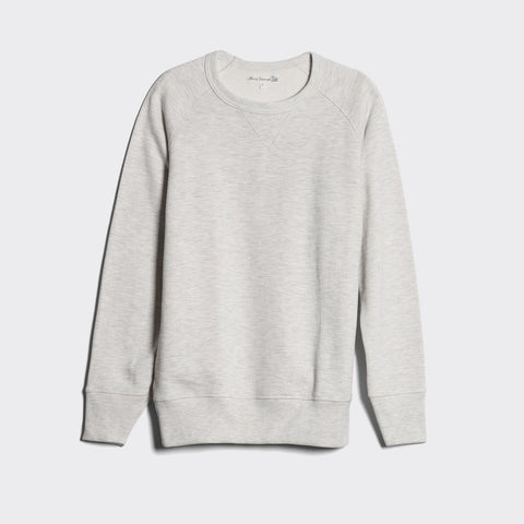Crew Neck Raglan Sweatshirt - Nature Melange
