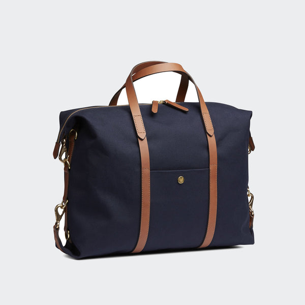 Mismo M/S Utility - Navy/Cuoio