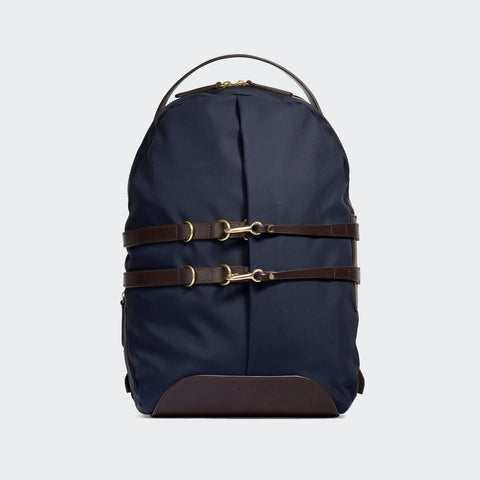 Mismo M/S Sprint Backpack - Navy/Dark Brown