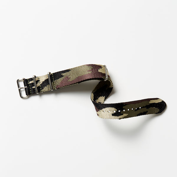 Nylon Watch Strap - Camo