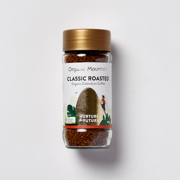 Organic Mountain Classic Roasted Instant Coffee