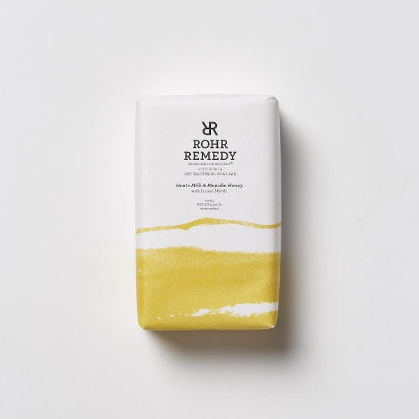 Rohr Remedy Goats Milk & Manuka Honey Soap