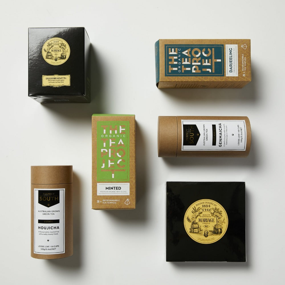 Footage Tea Ceremony Gift Box