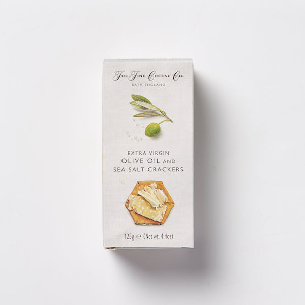 The Fine Cheese Co Extra Virgin Olive Oil & Sea Salt Crackers