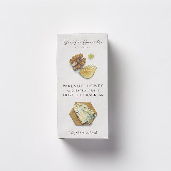 The Fine Cheese Co Walnut Honey EVOO Crackers