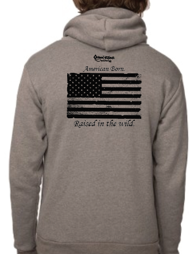 "Men's SONS of FALL ""American Born"" Recycled Plastic Hoodie"