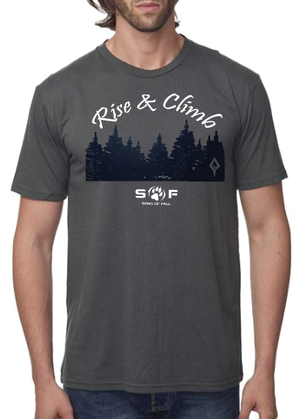 "Men's SONS of FALL ""Rise and Climb"" Bamboo Graphic Tee"