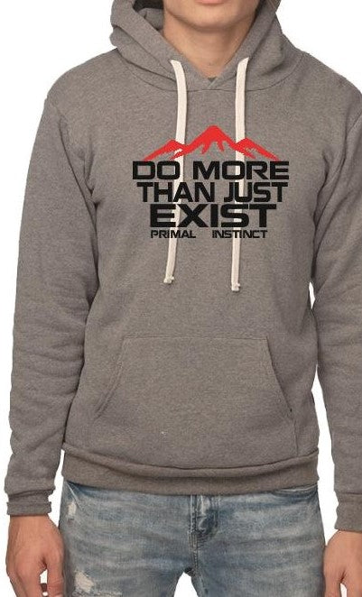 Men's Do more inspiration fleece hoodie