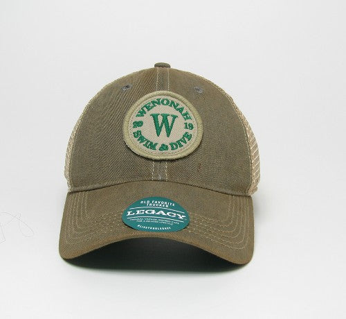 Wenonah logo Old fashion trucker hat
