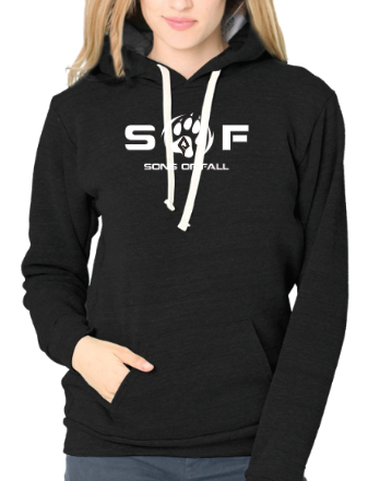 Women's SONS of FALL Recycled Plastic Logo Hoodie
