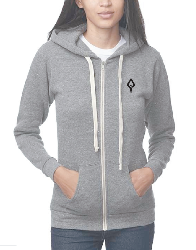 Woman's Logo zip-up hoodie