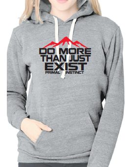 Women's Do more inspiration fleece hoodie