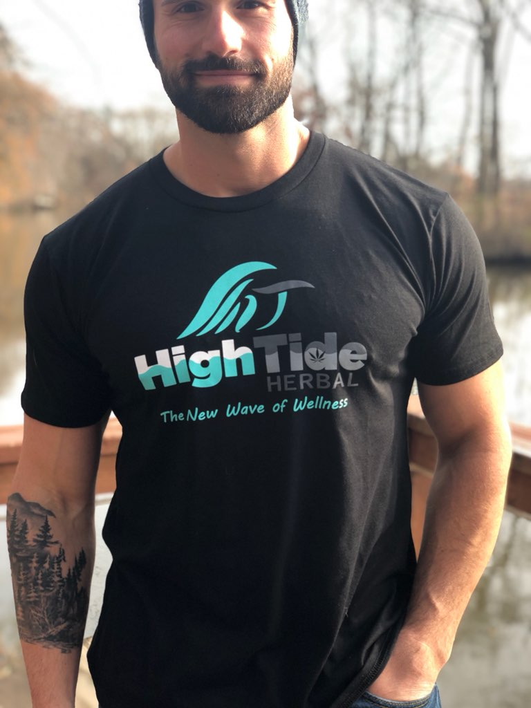 High Tide Herbal organic hemp Tee