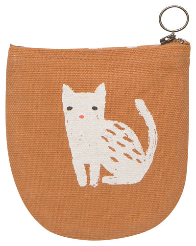 Half Moon Pouch - Cat