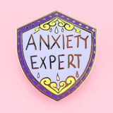 Anxiety Expert Lapel Pin