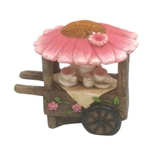 Load image into Gallery viewer, Fairy Garden Flower Cart