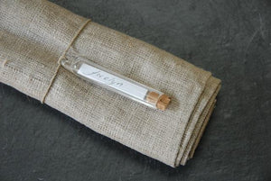 Glass Tube - vintage French style