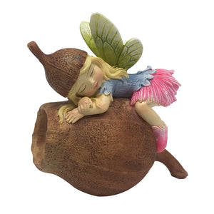 Fairy Sleeping on Gumnut