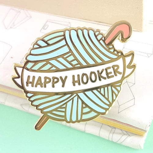 Happy Hooker - Lapel Pin