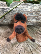 Load image into Gallery viewer, Felt Finger Puppet - horse