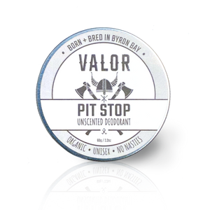 Pit Stop Natural Deodorant Paste (unscented)