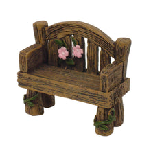 Load image into Gallery viewer, Fairy Garden Bench - mini