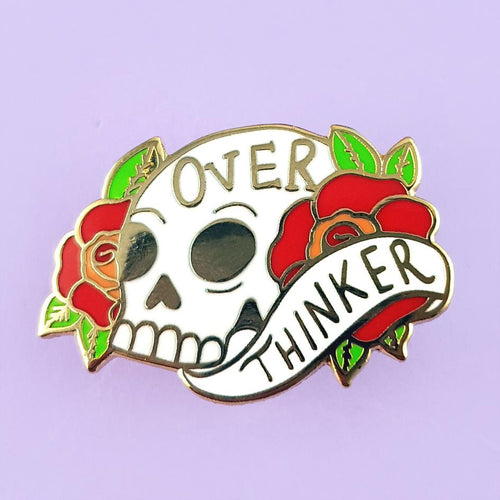 Over Thinker - Lapel Pin