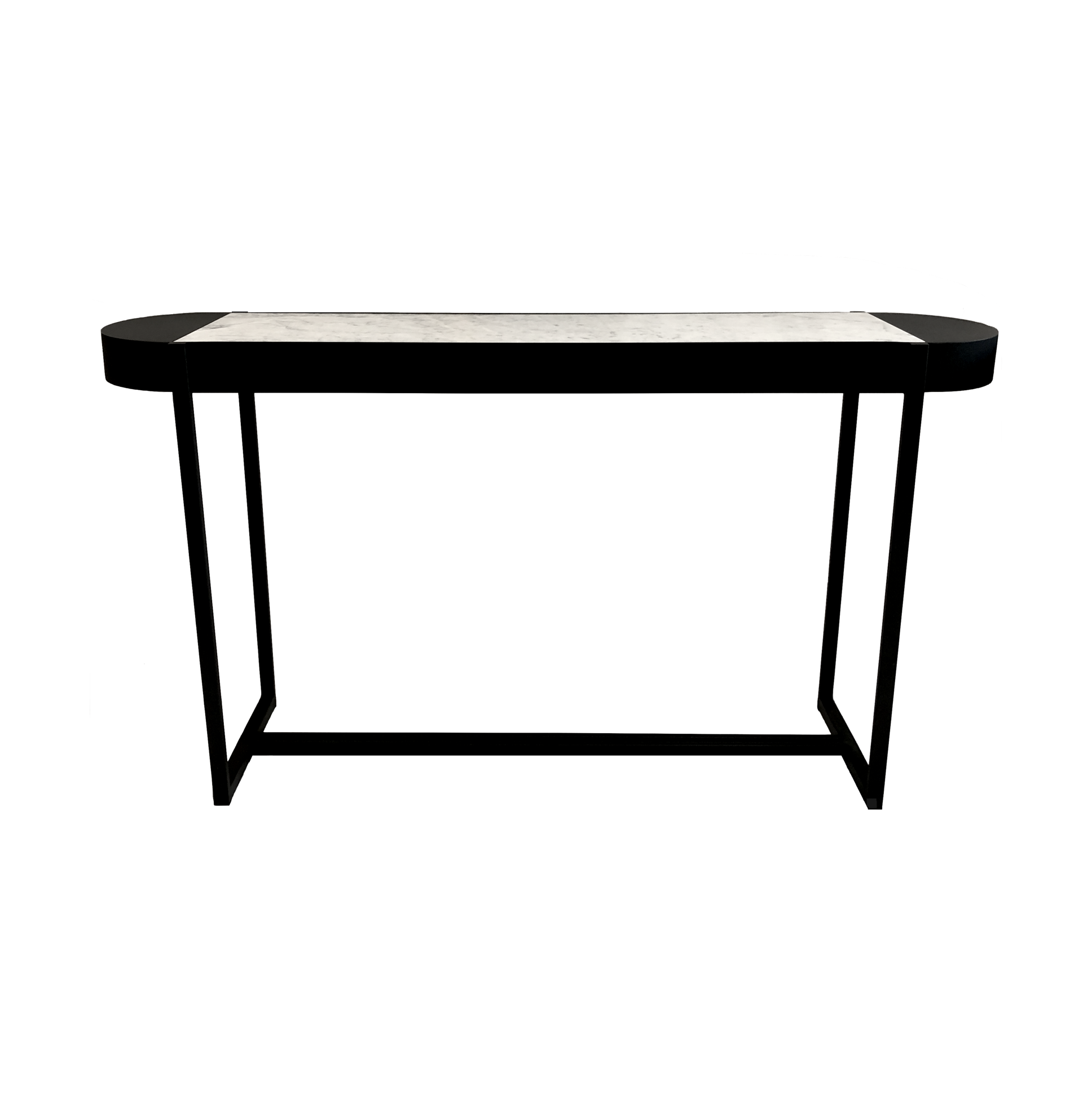 Alpine Marble Console Table | White