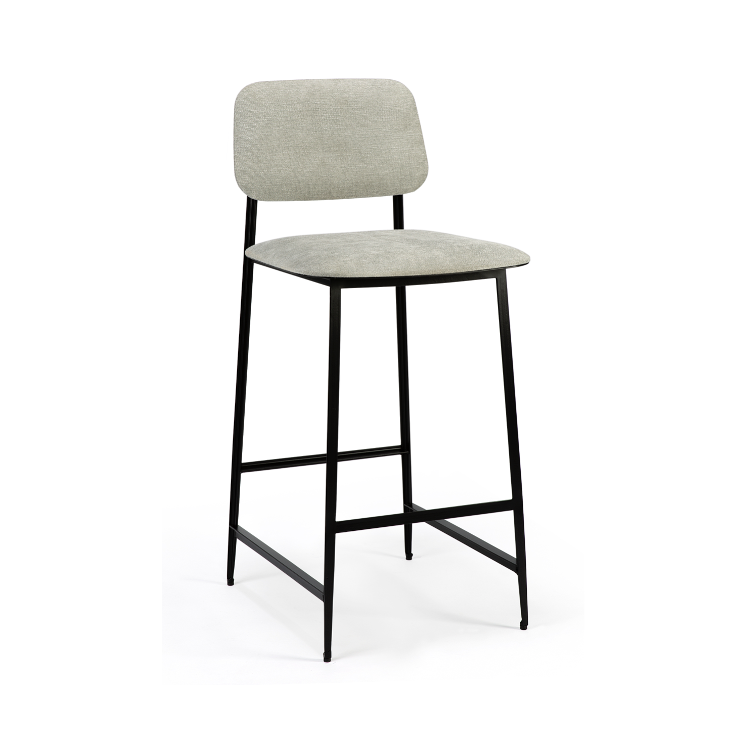 Anders DC Bench Barstool | Light Grey