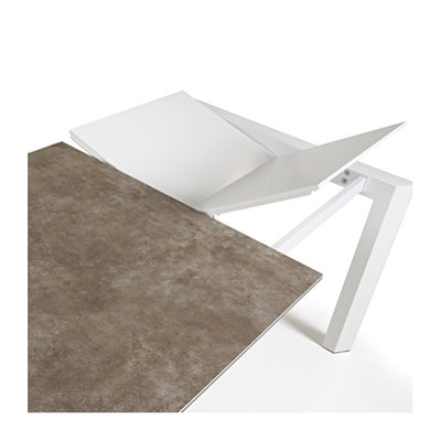 Atlas Extension Dining Table - White