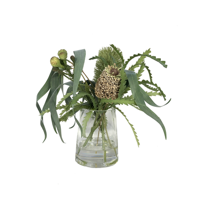 Banksia Flowers in a Vase