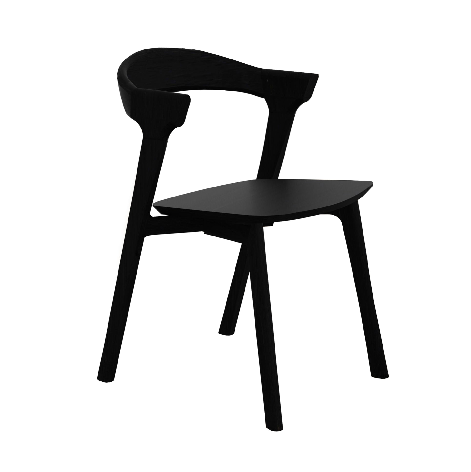 Bok dining chair | Black Oak