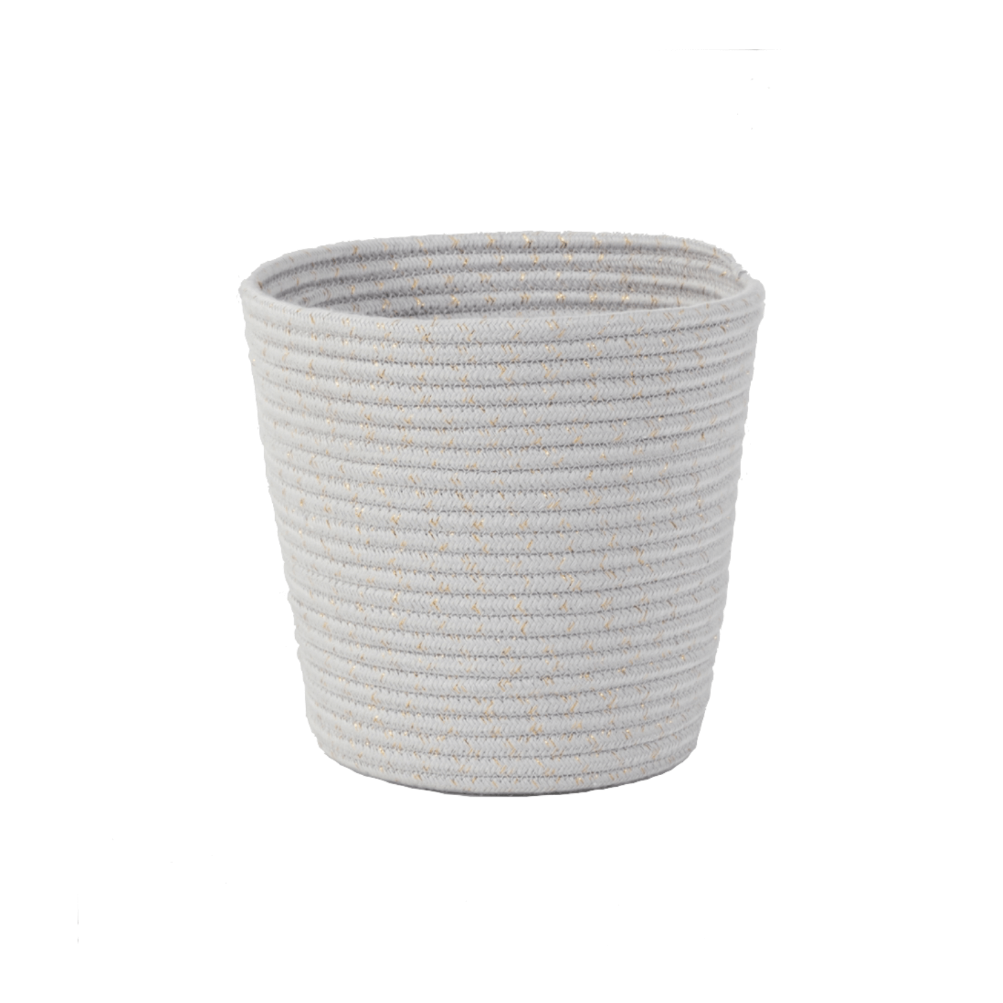 Casey Woven Planter Cover | Grey