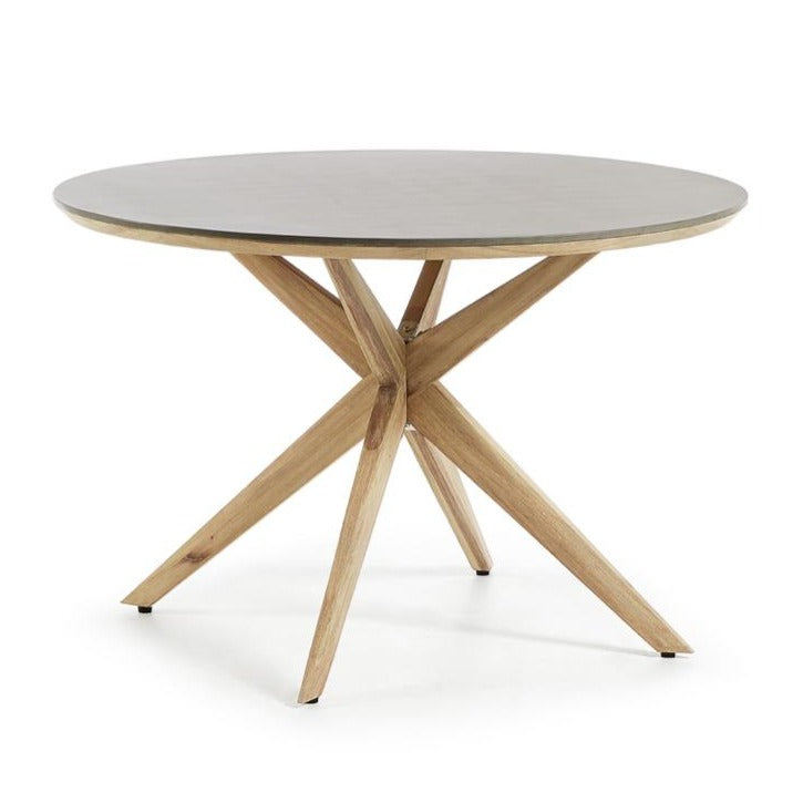 Caspian Round Patio Dining Table