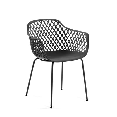 Collins Patio Chair | Charcoal