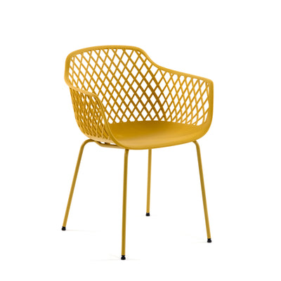 Collins Patio Chair | Mustard