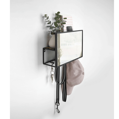 Cubiko Wall Mirror Coat Hook