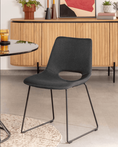 Denver Dining Chair | Coal