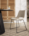Denver Dining Chair | Putty Corduroy