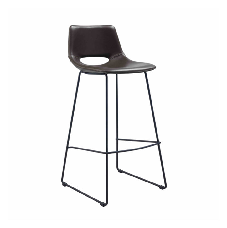 Denver Bench Barstool | Chocolate