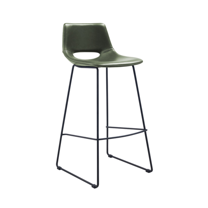 Denver Bench Barstool | Green