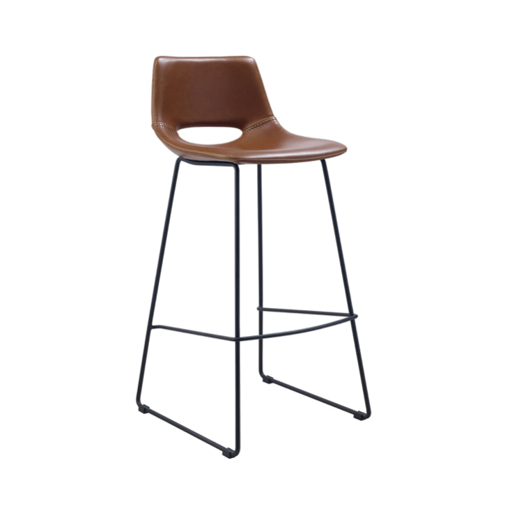 Denver Bench Barstool | Rust