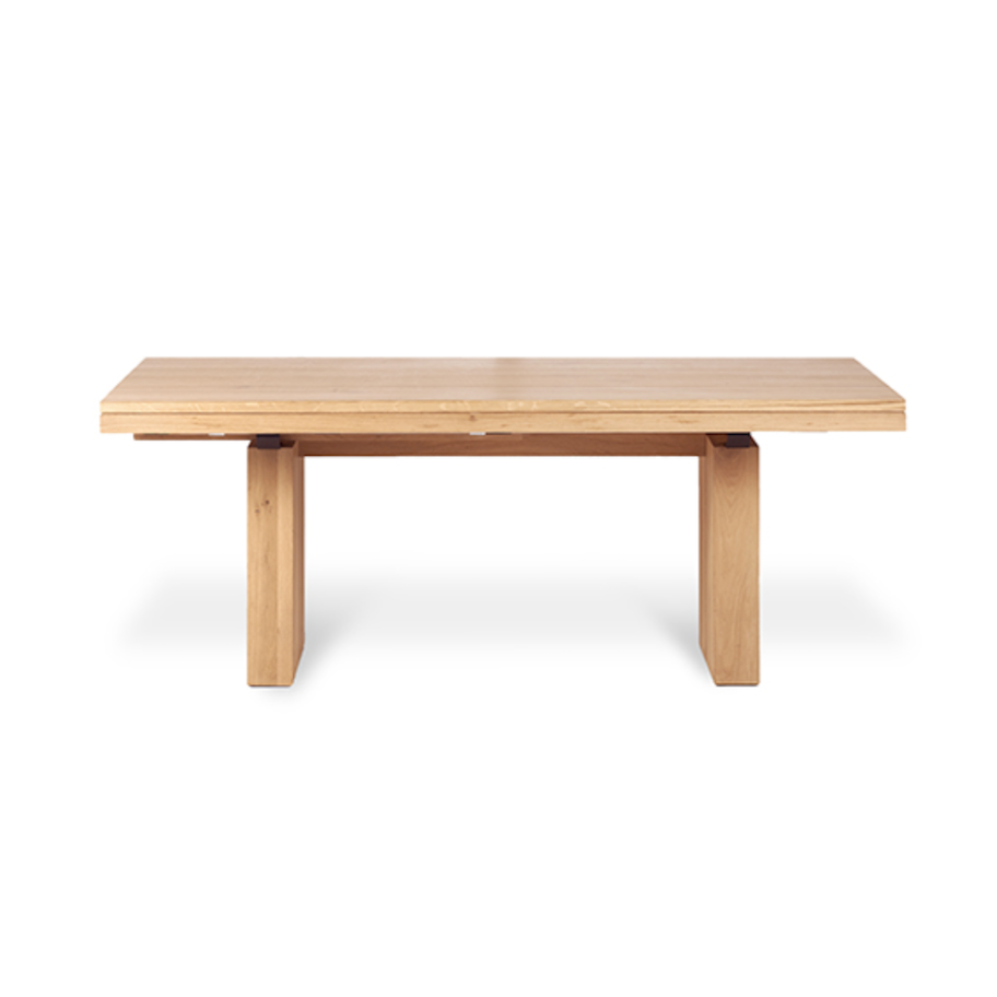 Double Extension Dining Table | Oak