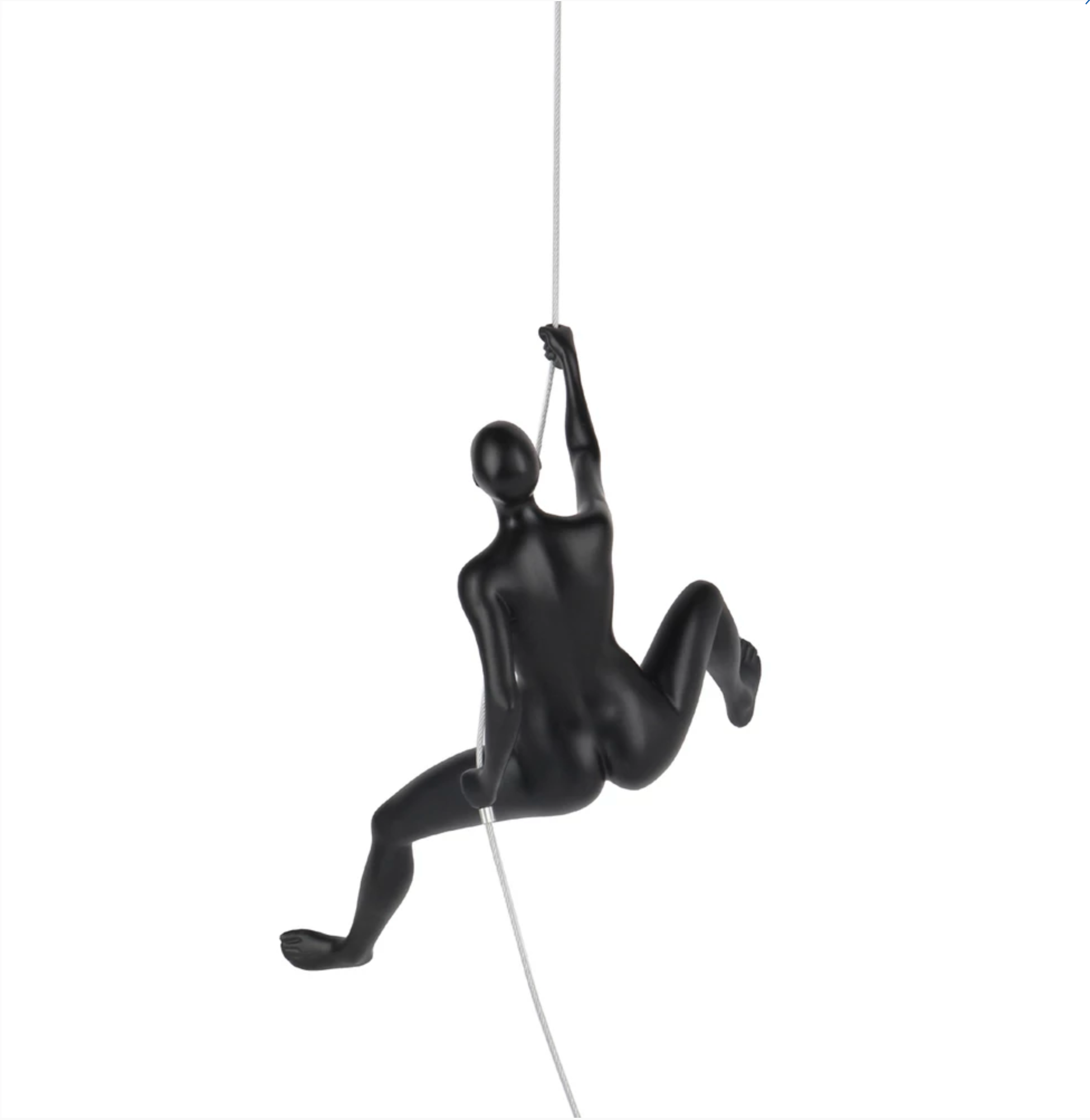 Eiter Climbing Woman Sculpture