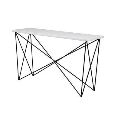 Elle Criss Cross Console Table