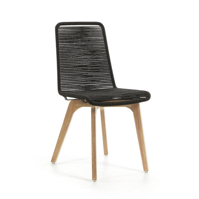 Endo Patio Dining Chair | Charcoal